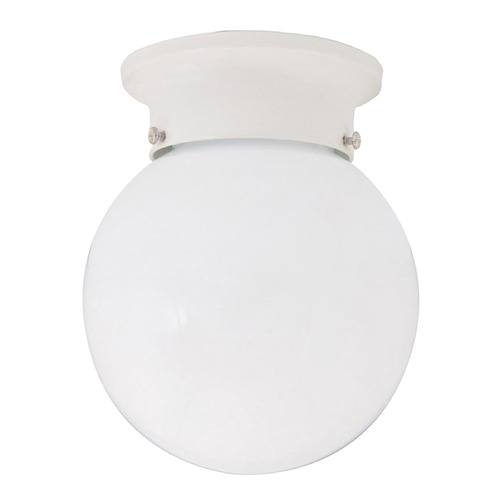 Capital Lighting Capital Lighting White Flushmount Light 5569WH