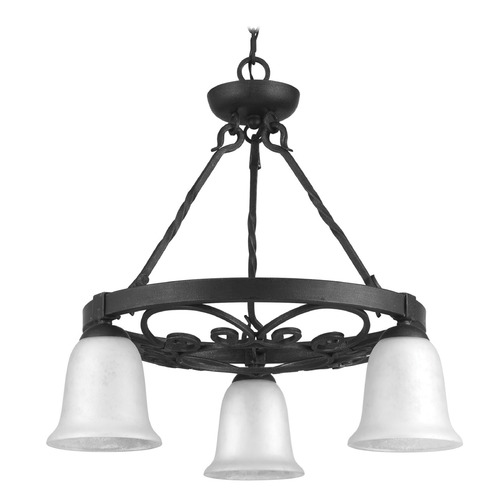 Progress Lighting Progress Lighting Enclave Gilded Iron Chandelier P4729-71