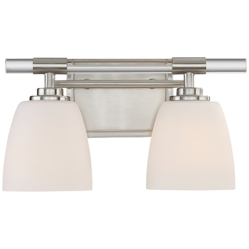 Quoizel Lighting Quoizel Lighting Highfield Brushed Nickel Bathroom Light HFD8602BN