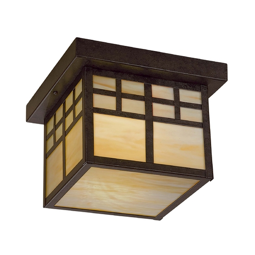 Minka Lavery Close To Ceiling Light with Art Glass in Other Finish 8609-A179-PL