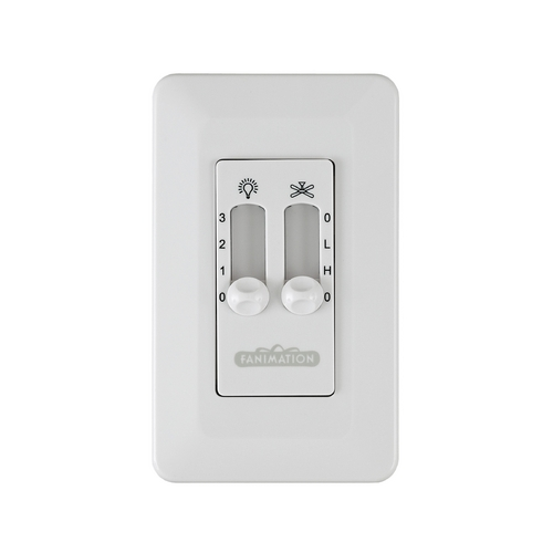 Fanimation Fans Control in White Finish CW6WH