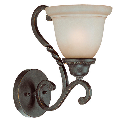 Jeremiah Lighting Jeremiah Sutherland English Toffee Sconce 22431-ET