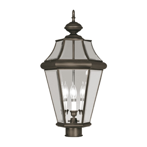 Livex Lighting Livex Lighting Georgetown Bronze Post Light 2364-07