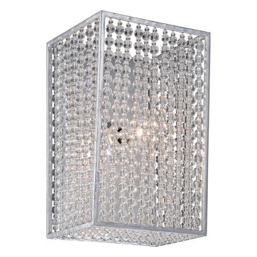 Metropolitan Lighting Metropolitan Saybrook Catalina Silver Bathroom Light N2731-598