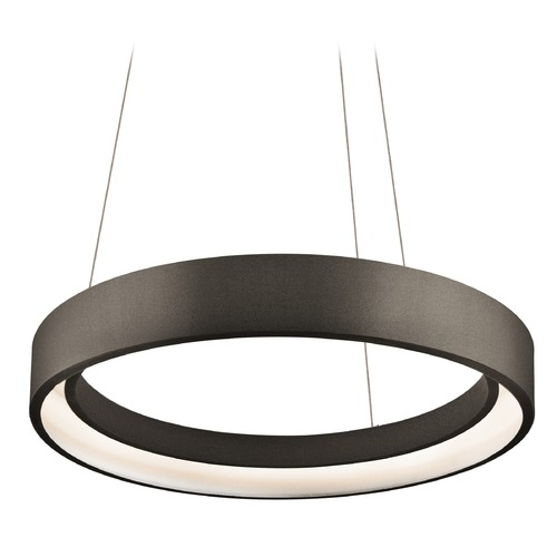 Elan Lighting Elan Lighting Fornello Sand Textured Black LED Pendant Light 83453
