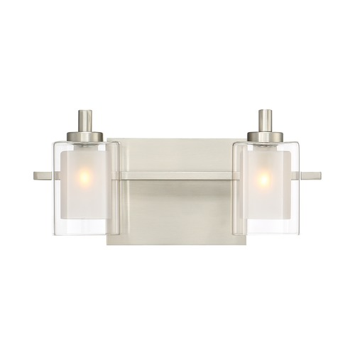 Quoizel Lighting Quoizel Lighting Kolt Brushed Nickel LED Bathroom Light KLT8602BNLED