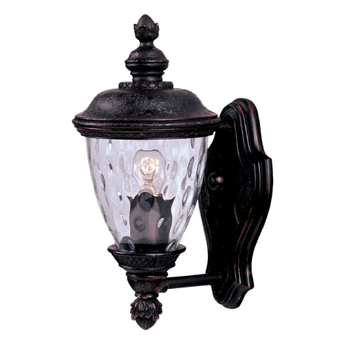 Maxim Lighting Maxim Lighting Carriage House Vx Oriental Bronze Outdoor Wall Light 40495WGOB