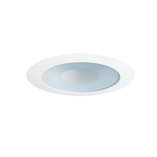 Juno Lighting Group Shower Trim for 4-Inch Low Voltage Recessed Housing 441 WWH