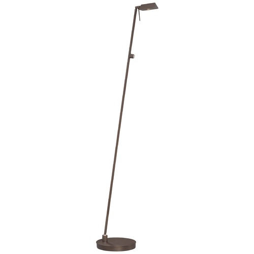 George Kovacs Lighting Modern LED Pharmacy Lamp in Copper Bronze Patina Finish P4314-647