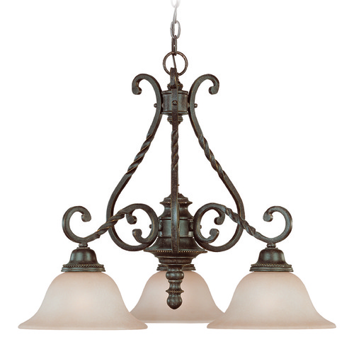 Jeremiah Lighting Jeremiah Sutherland English Toffee Chandelier 22433-ET