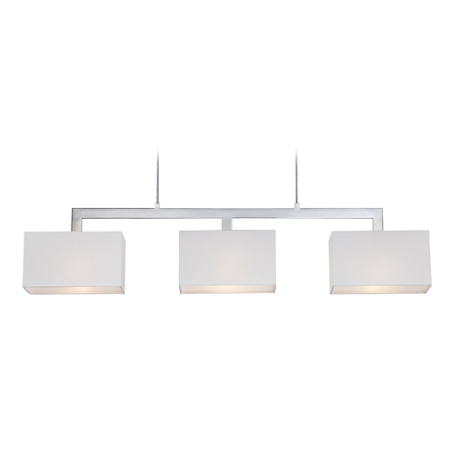 Quoizel Lighting Modern Island Light in Polished Chrome Finish REM345C