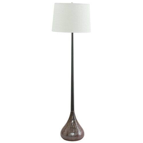 House of Troy Lighting House of Troy Scatchard Oil Rubbed Bronze Floor Lamp with Empire Shade GS500-OBDR