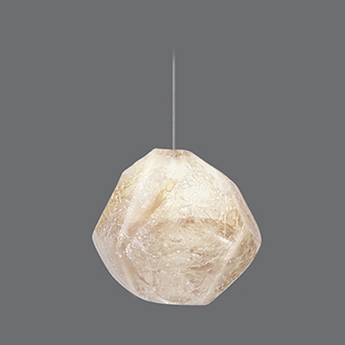 Fine Art Lamps Fine Art Lamps Natural Inspirations Silver Leaf Mini-Pendant Light 852240-10ST