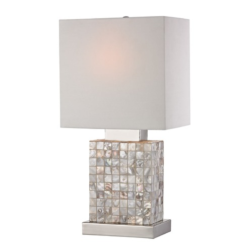 Sterling Lighting Mini Mother of Pearl Lamp 112-1155