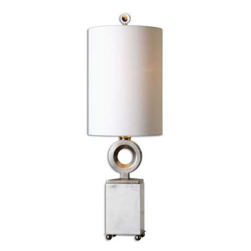 Uttermost Lighting Uttermost Palos White Alabaster Buffet Lamp 29771-1
