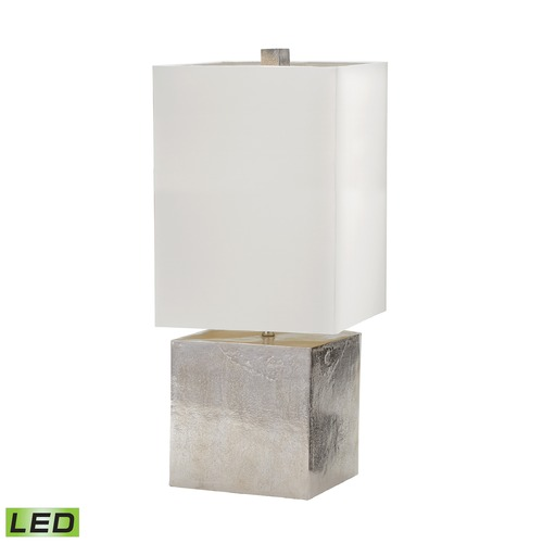 Dimond Lighting Dimond Lighting Nickel LED Table Lamp with Rectangle Shade 178-030-LED