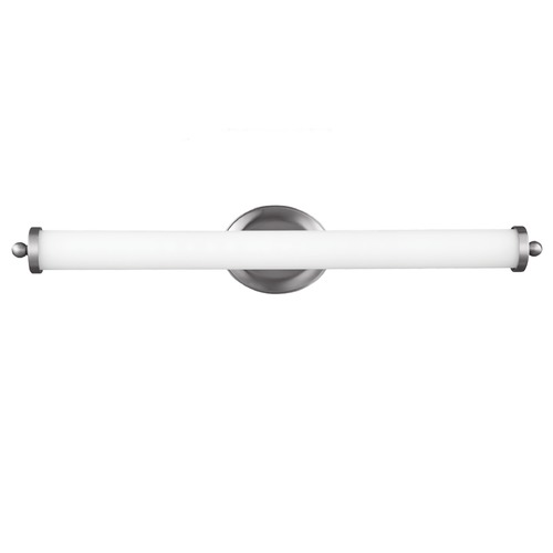 Feiss Lighting Elliston Satin Nickel LED Bathroom Light - Vertical or Horizontal Mounting WB1754SN