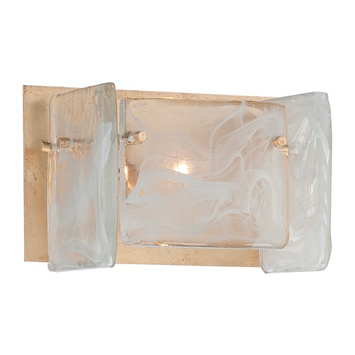 Metropolitan Lighting Metropolitan Arctic Frost Antique French Gold Bathroom Light N1781-595