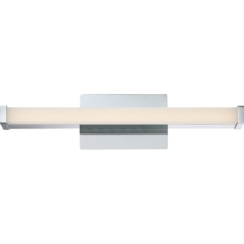 Quoizel Lighting Platinum Promenade Polished Chrome LED Bathroom Light - Vertical or Horizontal Mounting PCPE8519C