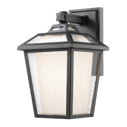 Z-Lite Z-Lite Memphis Outdoor Black Outdoor Wall Light 532B-BK