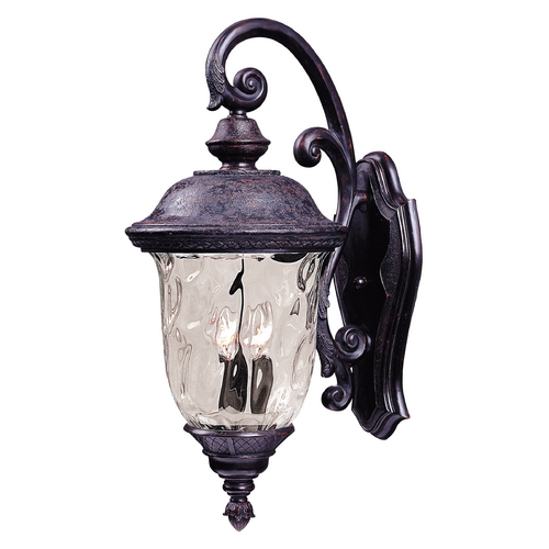 Maxim Lighting Maxim Lighting Carriage House Vx Oriental Bronze Outdoor Wall Light 40496WGOB