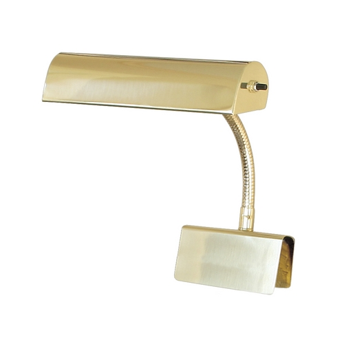 House of Troy Lighting Piano / Banker Lamp in Polished Brass Finish GP10-61