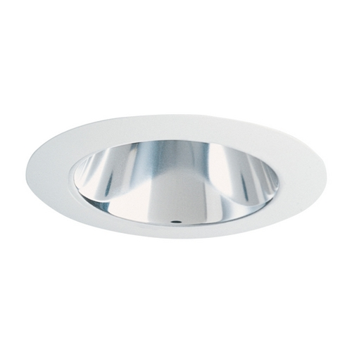 Juno Lighting Group Deep Cone Trim for 4-Inch Low Voltage Recessed Housing 442 BWH