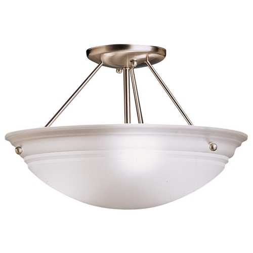Kichler Lighting Kichler Three-Light Semi-Flush Ceiling Light 3122NI