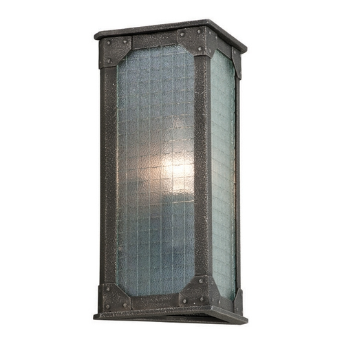 Troy Lighting Troy Lighting Hoboken Aged Pewter Outdoor Wall Light B3871