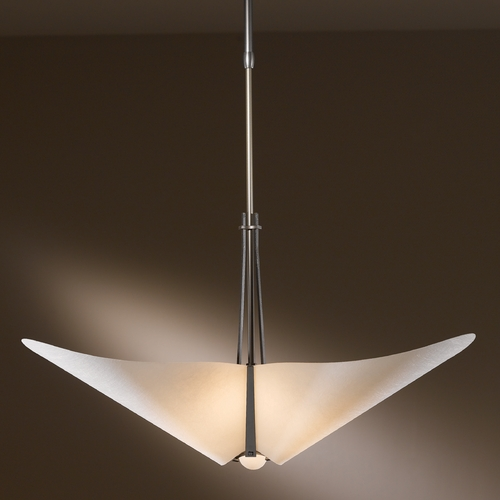Hubbardton Forge Lighting Hubbardton Forge Lighting Kirigami Dark Smoke Pendant Light 133303-07-524