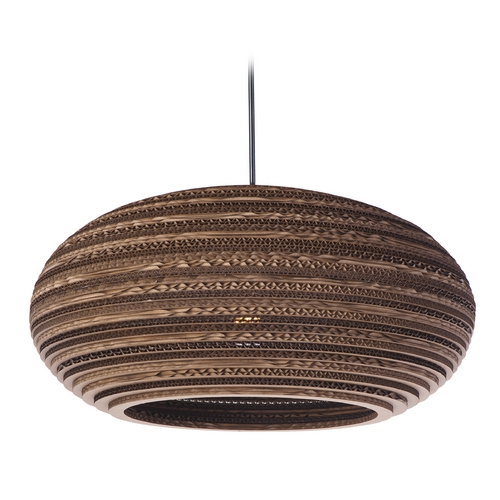Maxim Lighting Maxim Lighting Java Black Pendant Light with Oblong Shade 9105JVBK