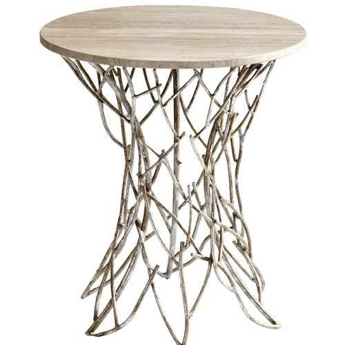 Cyan Design Cyan Design Twigs Antique Silver Coffee & End Table 05457