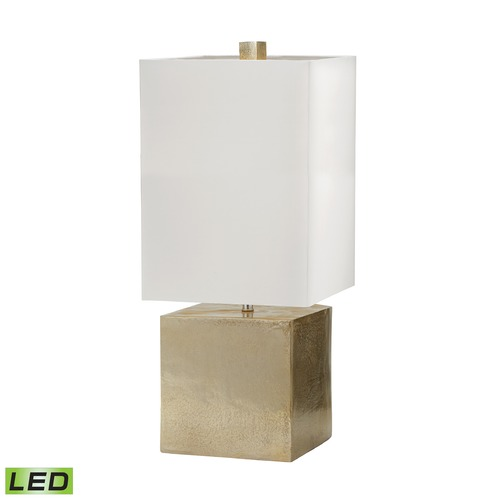 Dimond Lighting Dimond Lighting Nickel LED Table Lamp with Rectangle Shade 178-031-LED