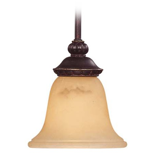 Savoy House Savoy House Antique Copper Mini-Pendant Light with Bell Shade 7P-50211-1-16