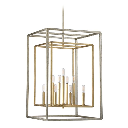 Savoy House Savoy House Lighting Berlin Argentum and Gold Pendant Light 3-823-9-212