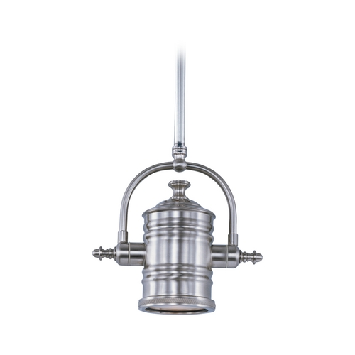 Maxim Lighting Pendant Light with Silver Shade in Polished Nickel Finish 25125FTPN