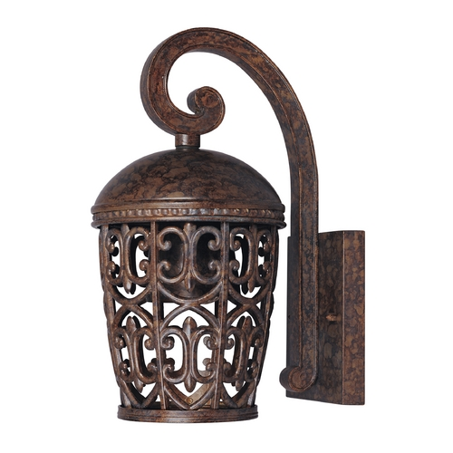 Designers Fountain Lighting Outdoor Wall Light in Burnt Umber Finish 97591-BU