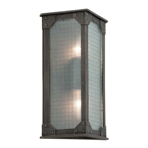 Troy Lighting Troy Lighting Hoboken Aged Pewter Outdoor Wall Light B3873