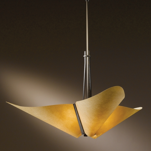 Hubbardton Forge Lighting Hubbardton Forge Lighting Kirigami Dark Smoke Pendant Light 133303-SKT-STND-07-SI1994