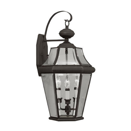 Livex Lighting Livex Lighting Georgetown Bronze Outdoor Wall Light 2361-07