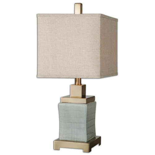 Uttermost Lighting Uttermost Cantarana Pale Blue Gray Lamp 29948-1
