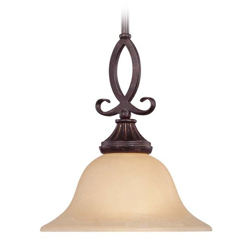 Savoy House Savoy House Antique Copper Mini-Pendant Light with Bowl / Dome Shade 7P-5595-1-16