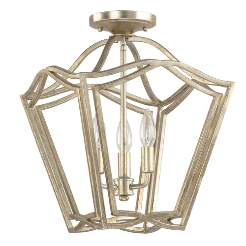 Capital Lighting Capital Lighting Foyer Winter Gold Pendant Light 9651WG