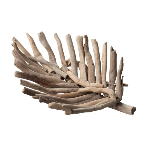 Dimond Lighting Driftwood Leaf Tray - Small 356005