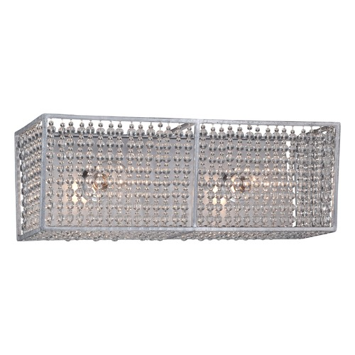 Metropolitan Lighting Metropolitan Saybrook Catalina Silver Bathroom Light N2732-598