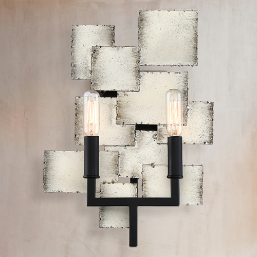 Quoizel Lighting Quoizel Lighting Torrance Old Silver Sconce TCE8702OS