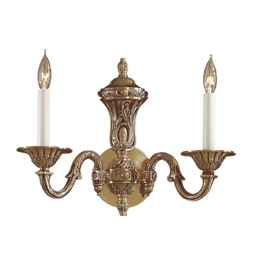Metropolitan Lighting Sconce Wall Light in Antique Classic Brass Finish N700202