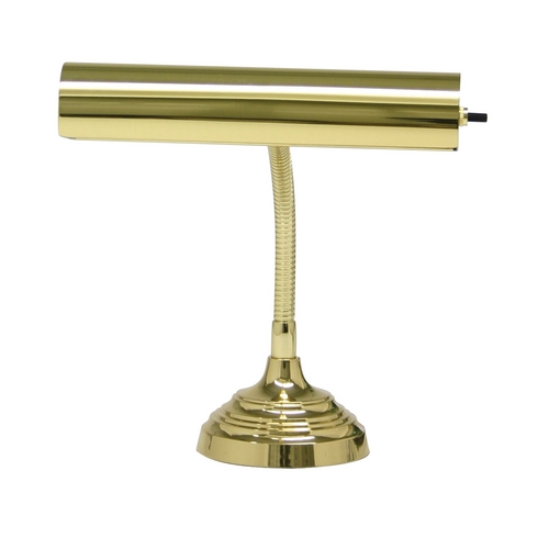 House of Troy Lighting Piano / Banker Lamp in Polished Brass Finish AP10-20-61