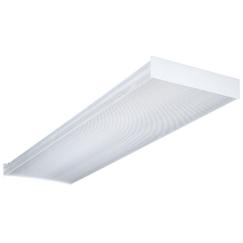 Lithonia Lighting Four-Light Fluorescent Ceiling Light SB-432-120-1/4-RE