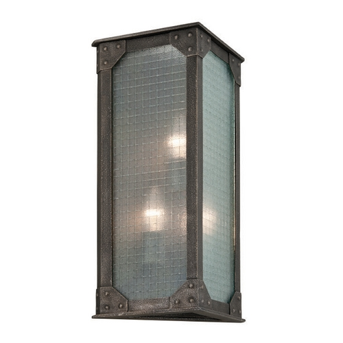 Troy Lighting Troy Lighting Hoboken Aged Pewter Outdoor Wall Light B3874